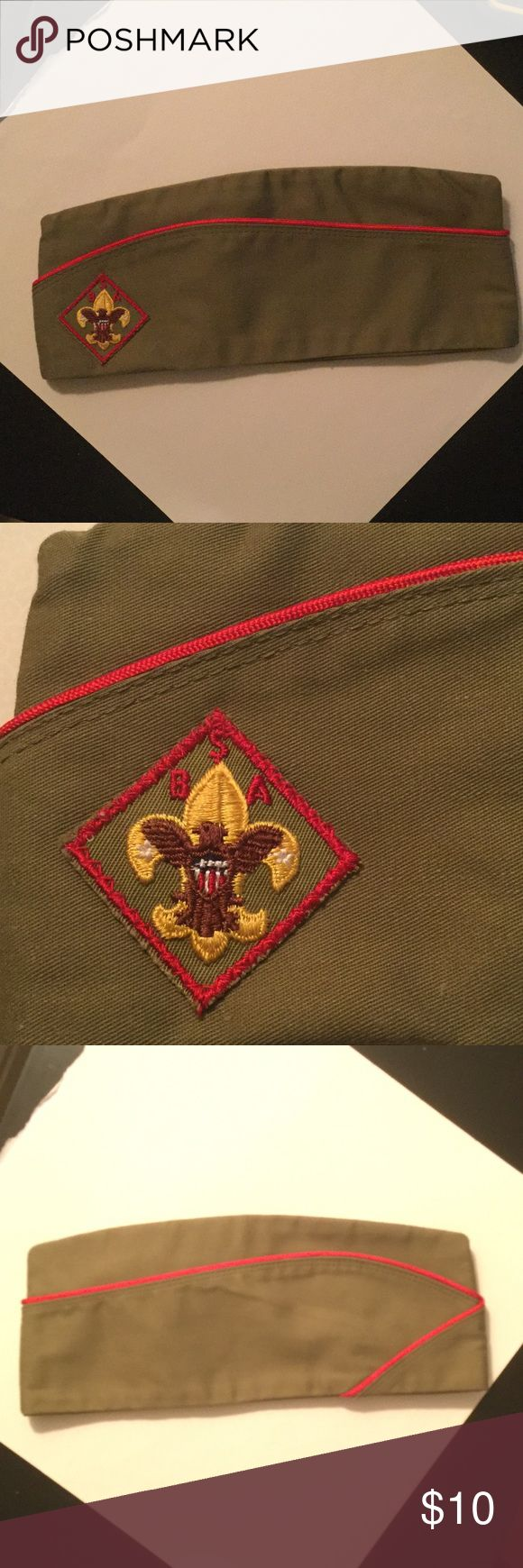 Boy Scout official hat This Boy Scout hat is a size M 6 3/4 - 61/8 Accessories Hats