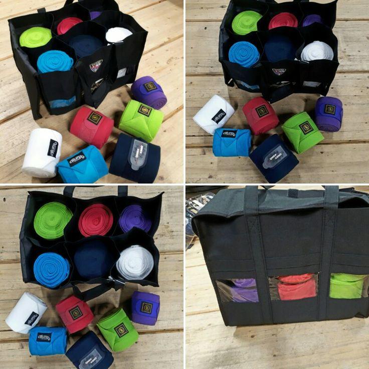 Les nouveaux sacs de Horze sont parfait pour ranger vos bandes de travail, guêtres, brosses et autres ... Retrouvez les en ligne : https://chambriere.ca/produits/c-2-les-soins/c-31-pansage/p-3077-accessoire-autre-horze-sac-a-bandages.html