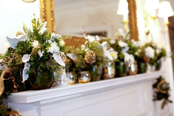 For the holidaysMantles Decor, Fireplaces Mantles, Fireplaces Mantels, Decor Ideas, Cozy Winter, Winter Mantles, Holiday Wedding, Holiday Decor, Christmas Mantels