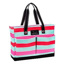 Scout Tote Bag Zippered w Pockets Uptown Girl Flamingo Road 14585