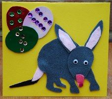 Easter Bilby Card