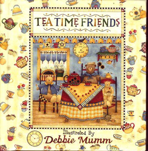 Tea Time Friends, Illustrated by Debbie Mumm - a sweet little book.  http://www.amazon.com/gp/customer-media/permalink/moBY1N46H9TNLG/1570510970/ref=cm_sw_r_pi_ci_1570510970