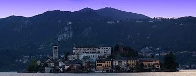Lago d'orta. Italy