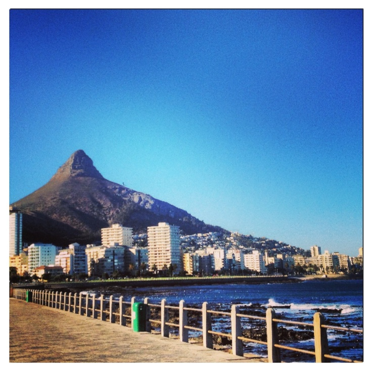Seapoint, promenade, view of Lionshead