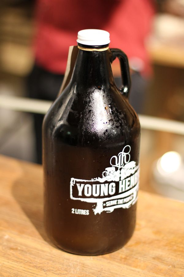 @Young Henrys 2-litre growler of cider!