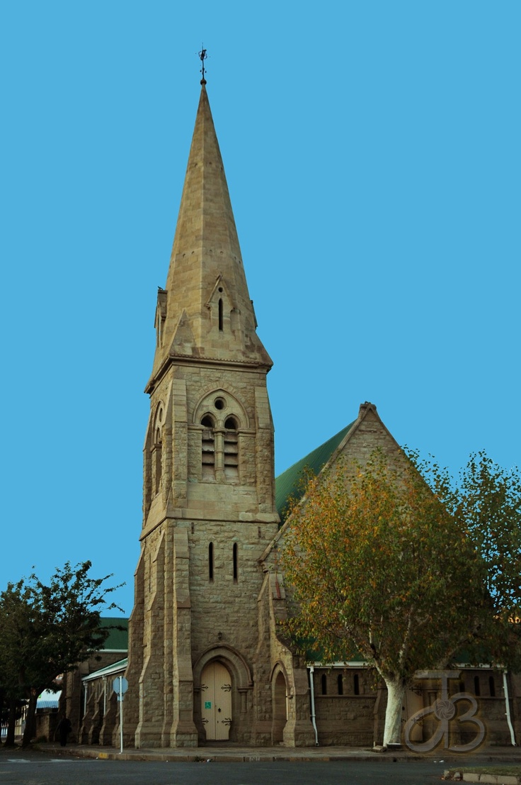 Wesley Methodist church of Queenstown, Eastern Cape, South Africa. By #PhotoJdB