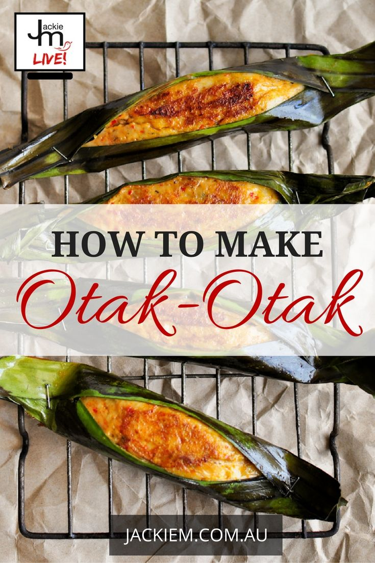 Here is the recipe and replay of Episode 3 of the Southeast Asian Cooking Masterclass Series – How to Make Otak-Otak