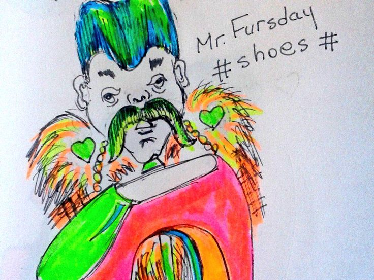 """#Mr.Fursday #shoeoftheday"""