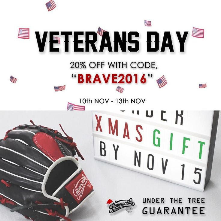 """Order Today and Grab Both. Gloveworks is offering 20% off Use the code """"brave2016"""" at checkout you will get 20% off every order. AND we will guarantee delivery by December 24nd 2016. So if you're thinking about Gloveworks as a gift (or for yourself!) now is a great time to order. #Gloveworks #glovefactory #BringItHome  #baseball #beisbol #mlb #custom #gocustom #custommitt #customglove #baseballswag #baseballweekend #travelball #baseballteam #collegebaseball"""