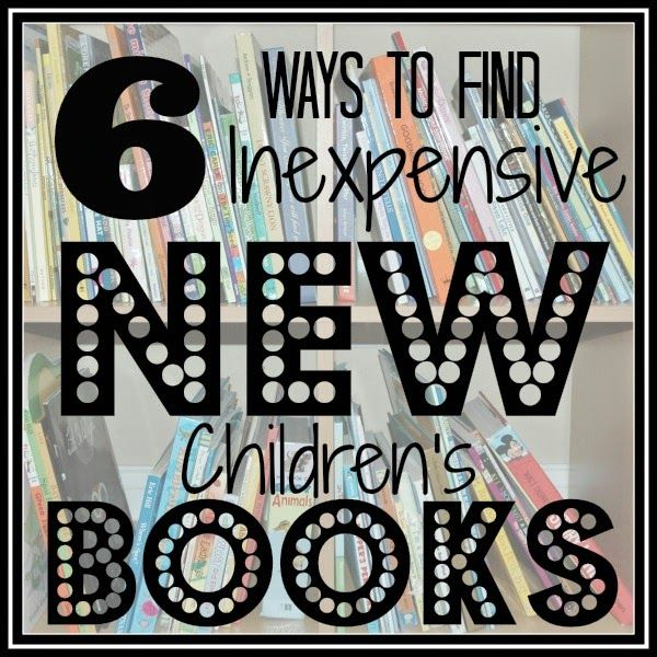 Cutting Tiny Bites: 6 Ways to Find Inexpensive, New Children's Books
