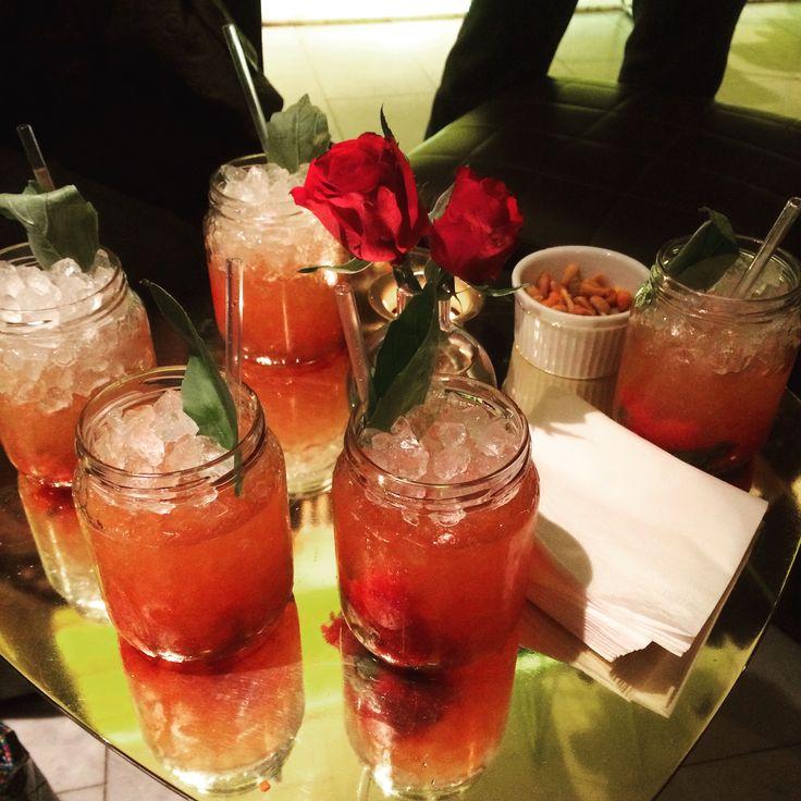 Fantastisk god drink som serveras på Guldbaren Nobis Hotel