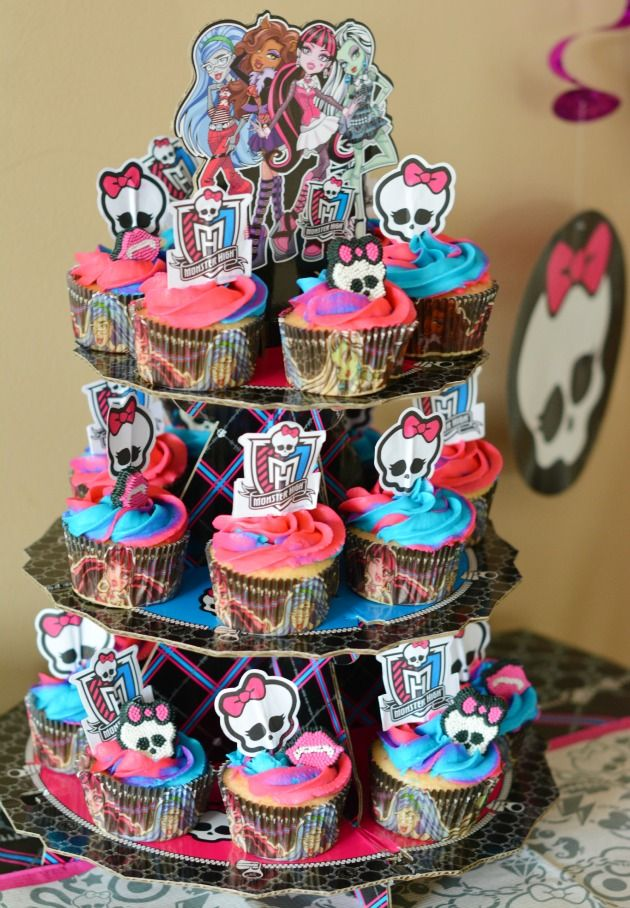 Monster High Birthday And Of Course There S The Monster