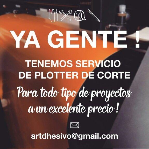 Promoción ! Servicio de plotter de corte !  #artdhesivo