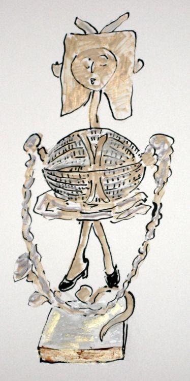 해피 할로윈!  모든 권리 보유 30/10/11 글래디스 Perint 파머 © 파블로 피카소, 소녀 건너 뛰는 밧줄, Vallauris 1950 사과