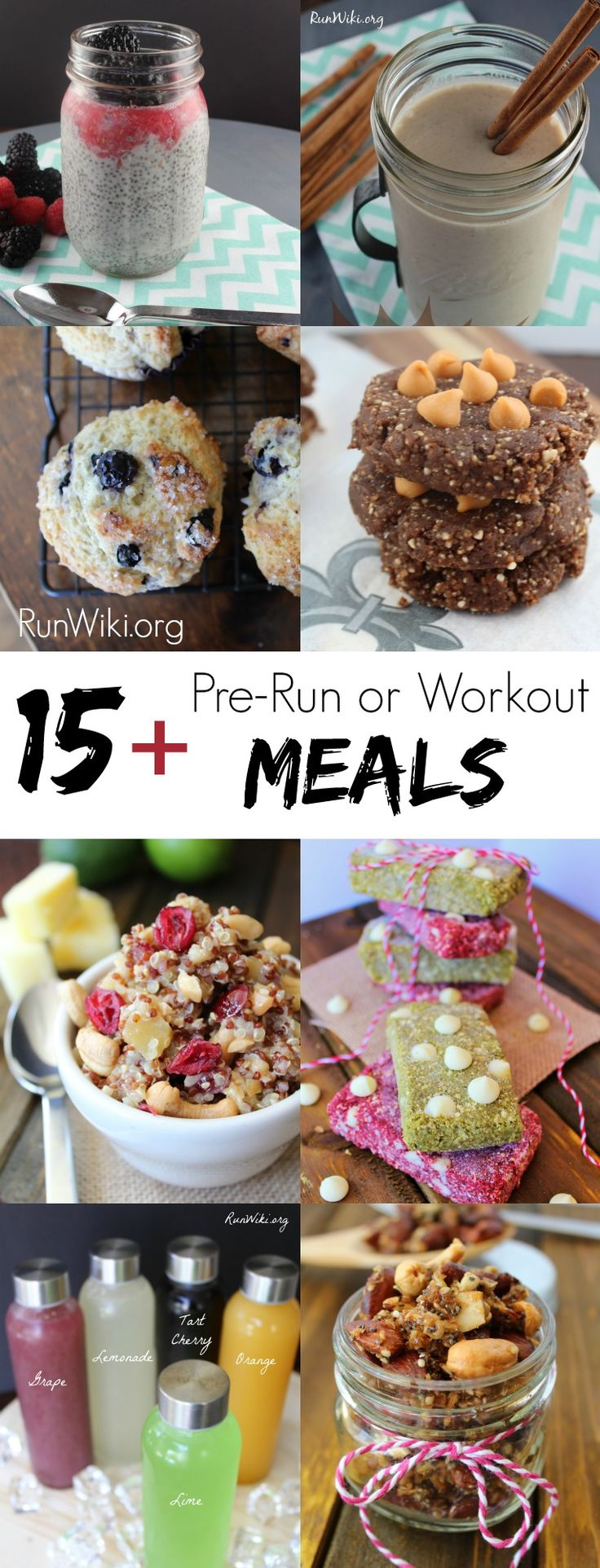 Pre Long Run and workout meal ideas. Small snack ideas to fuel you run for the long haul. These are my go to energy sources when I need to go the distance. I eat #3 all of the time. Running  Half Marathon training   Beginners   plan