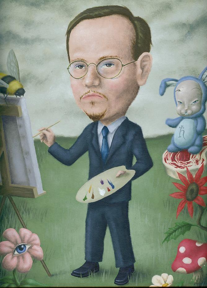Mark Ryden (self portrait) | Mark Ryden Fountain