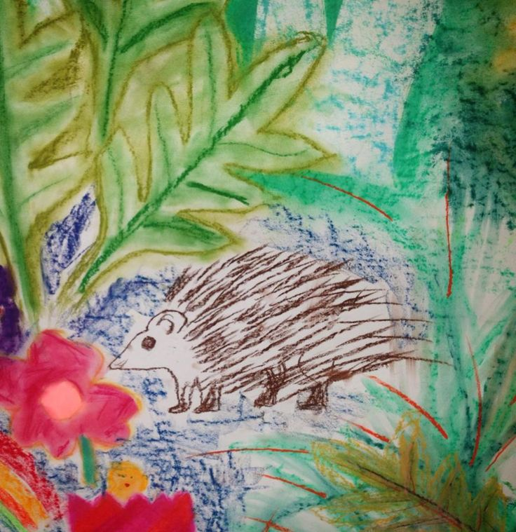 Happy Easter from the RWA! Pic from Scribble and Sketch workshop with Anouk Mercier! http://rwa.org.uk/whats-on/events/2015/04/scribbleandsketchspringsummer15/