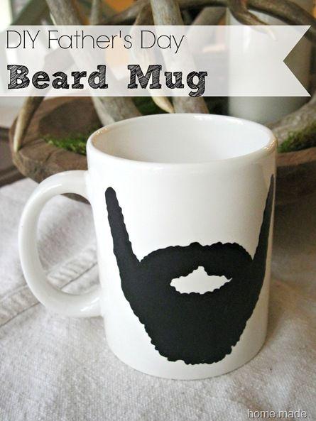 diy father's day coffee mugs