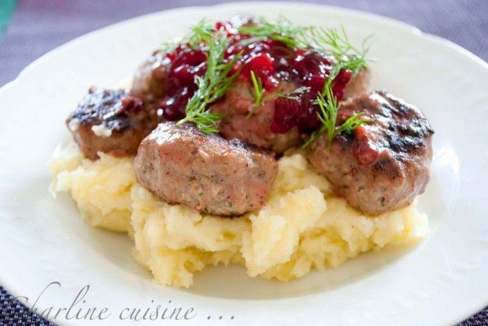 Boulettes de viande à la suédoise de Jamie Oliver