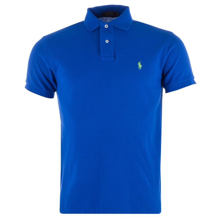 Polo Shirts | Blue green Mens Custom Fit Polo Shirt | Get The label