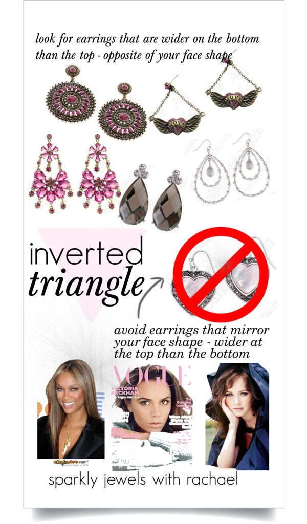 earrings for inverted triangle face shape