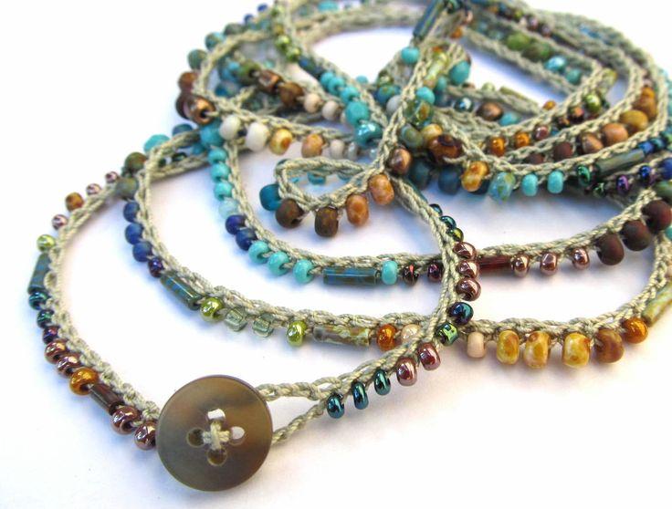 Perlenarmbänder häkeln   – Kick Ass Jewelry Board