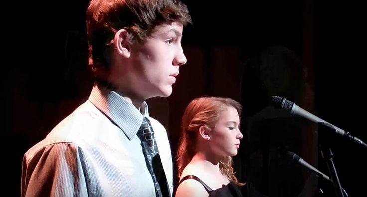 Dois Jovens Decidem Cantar Clássico De Celine Dion e Andrea Bocelli e a Atuação é De Arrepiar!