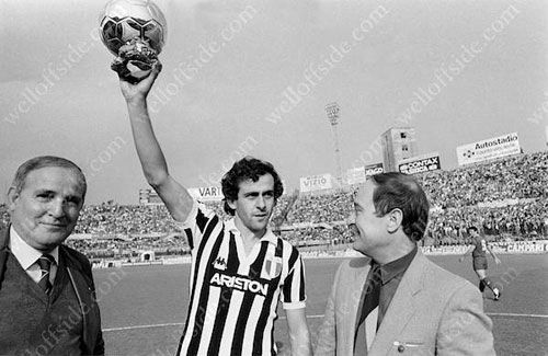 Michel Platini (1983. Juventus Turin)