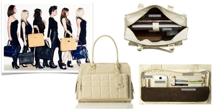 Tote your most precious asset in style - at long last! - with a chic laptop bag from Graceship.