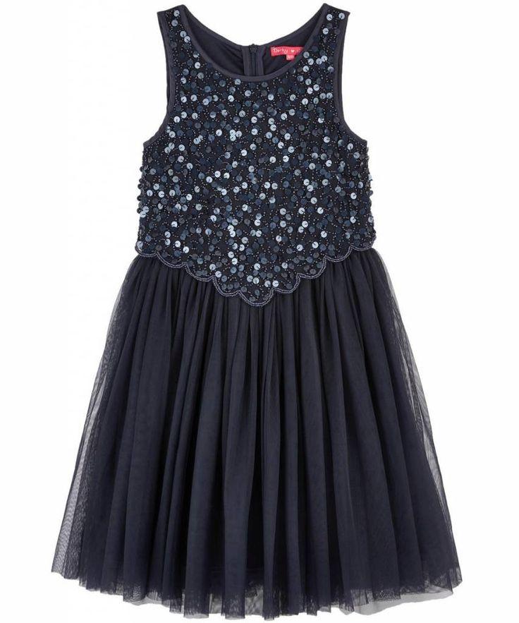 Derhy Kids Lily-Rose partydress marine
