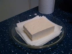 The Simple Method to Draining or Pressing Tofu