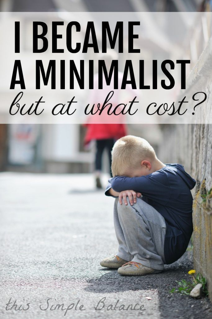 What one mom learned about minimalism, gifts, and gratitude. #minimalist