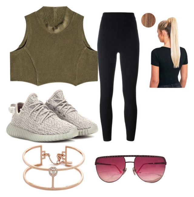 """""""Yeezy Collection"""" by natalielaine77 on Polyvore featuring Yeezy by Kanye West, adidas Originals, Messika and Louis Vuitton"""