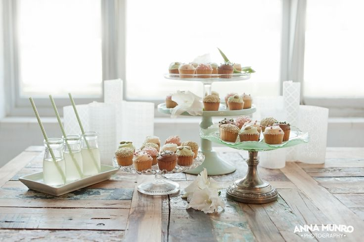 cupcakes by Sweet Bakery & Cakery Styling by Mindy Dalzell of twigandarrow.com Photography by Anna Munro