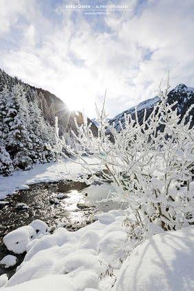 Winterlandschaft im Wildgerlostal, Gerlos, Krimml, Finkau, Salzburgerland, Nationalpark Hohe Tauern www.alpindis.at