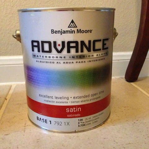 benjamin moore advance paint for kitchen cabinets