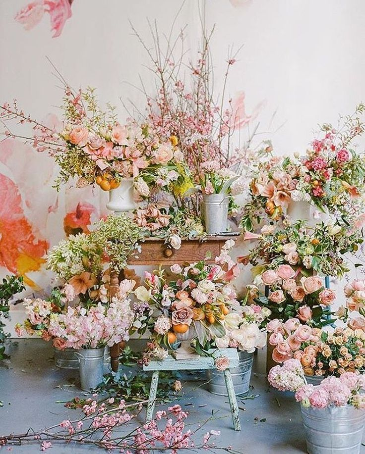 """38.9k Likes, 194 Comments - Anthropologie (@anthropologie) on Instagram: """"You can never have too much pink or too many flowers #regram @tulipinadesign"""""""