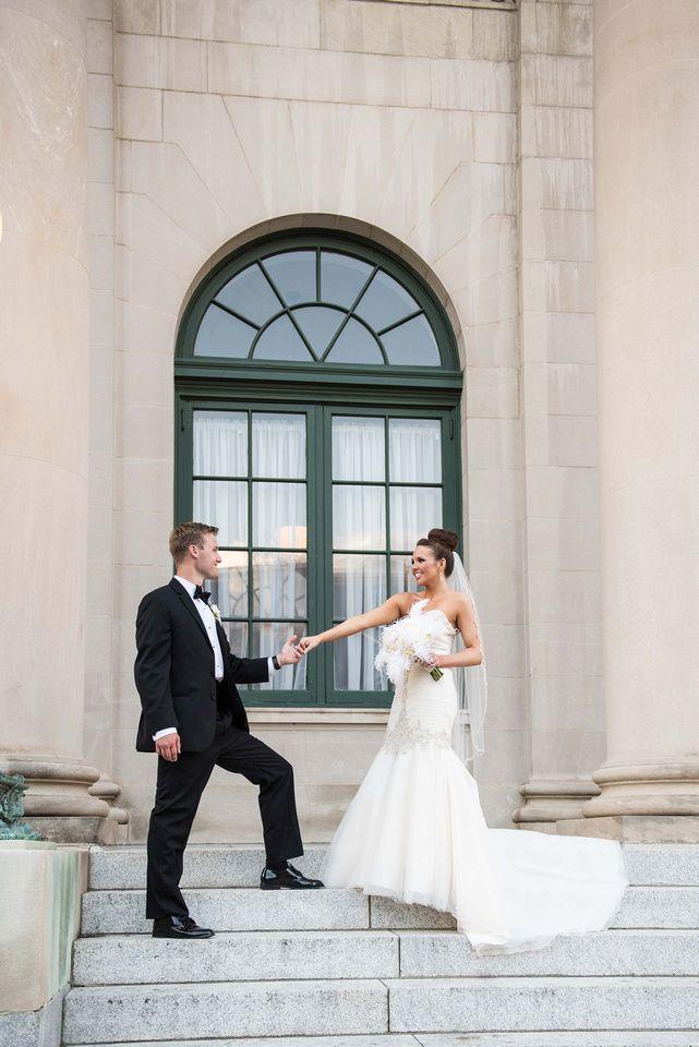 Millennium Center Winston Salem Bride And Groom Formals NC Wedding Photographer Triad Weddings Yasmin Leonard Photography