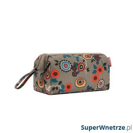 Kosmetyczka Reisenthel Travelcosmetic berry khaki WC5030