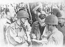 Major General Sun Li-jen (孫立人) with Stilwell in Burma