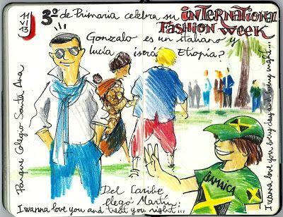 PARQUE - COLEGIO SANTA ANA: ESCRIBIR + DIBUJAR (11 de junio)