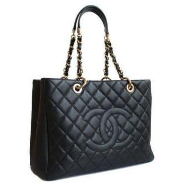 Réplica de Bolsa Chanel Shopper em Couro Caviar Preta - Linha Premium    Não perca à oportunidade de adquirir agora sua bolsa Chanel em até 12x no cartão com frete grátis para todo Brasil.  www.replicadebolsas.com.br