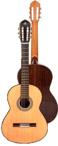 Ver Modelo B45 Guitarra Clásica del Constructor Francisco Bros, en el Blog de guitarra Artesana