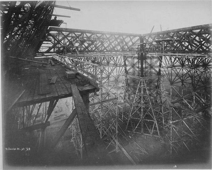 Construction de la Tour Eiffel -