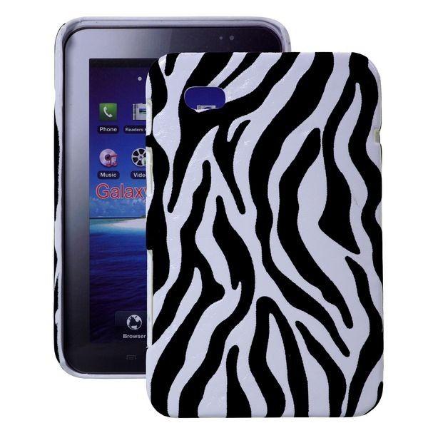 Zebra (Hvit) Samsung Galaxy Tab P1000 Deksel