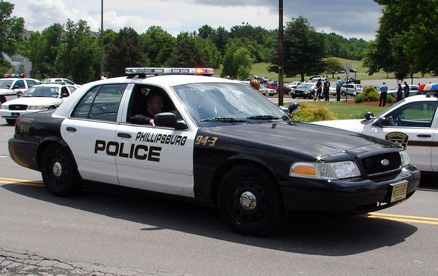 Phillipsburg New Jersey Police Police Cars