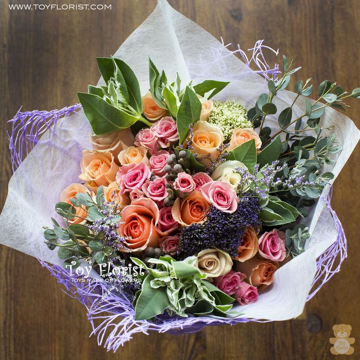Essence of Spring bouquet by Toy Florist