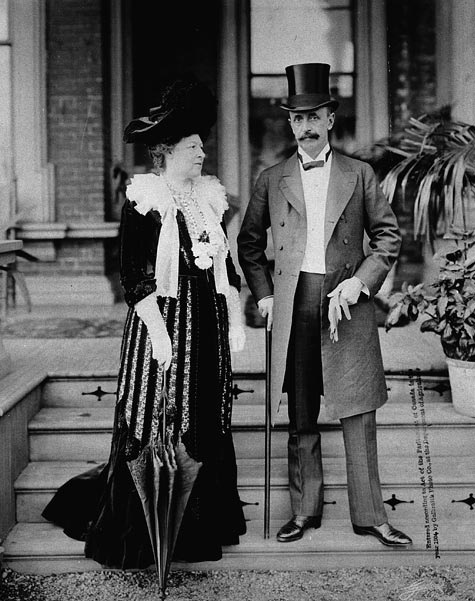 Earl and Countess Grey photographed in Ottawa, Ontario, Canada, 1904. #vintage #Edwardian #Canada