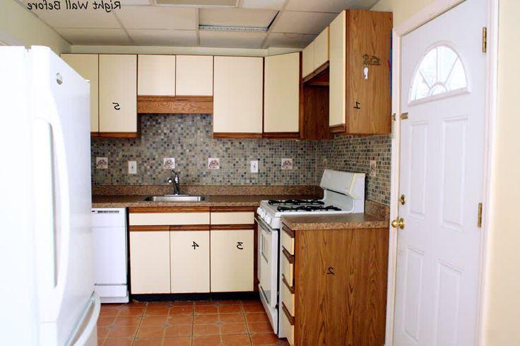 Tiny Kitchen Layouts Plain Design Kitchen Design L Shape On ...