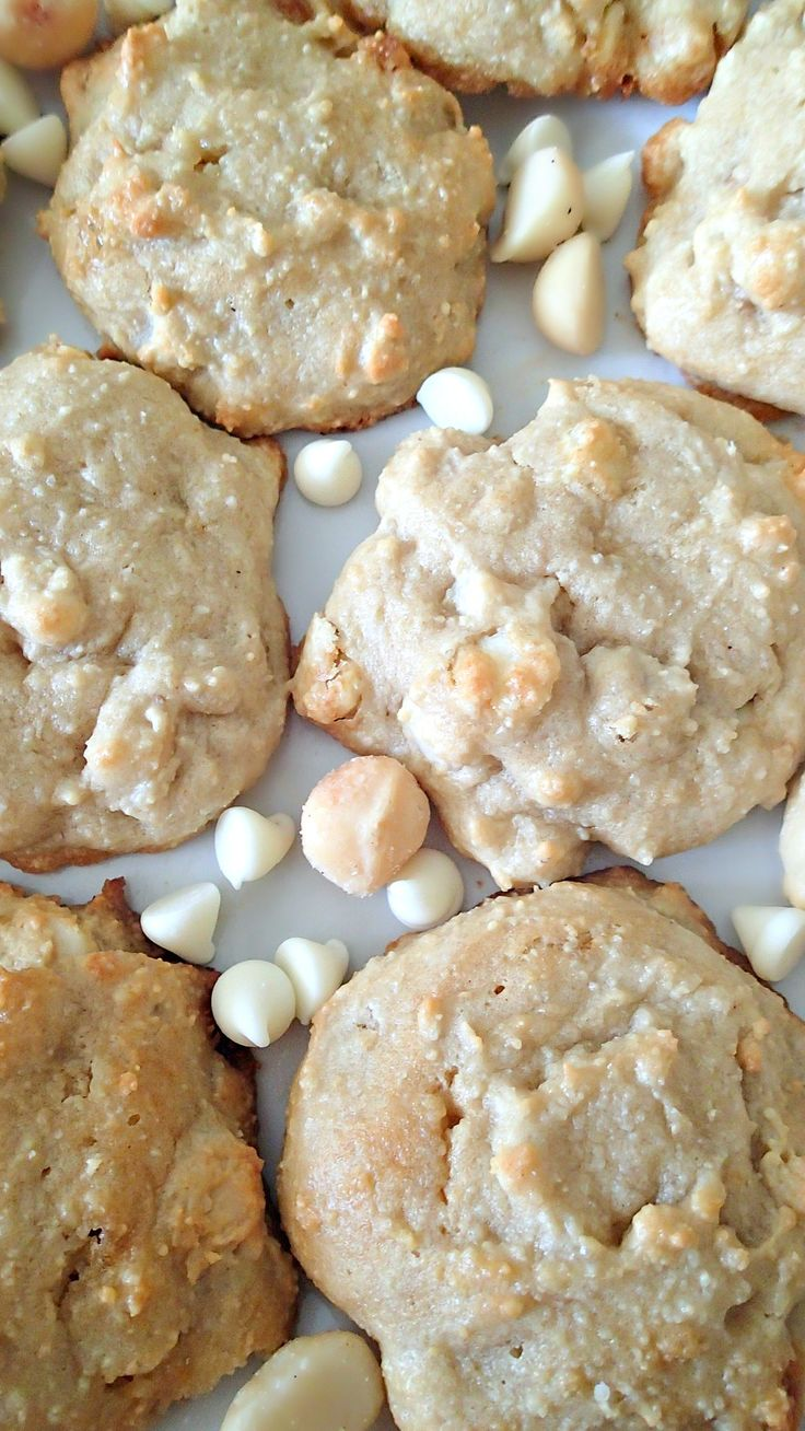 almond flour white chocolate macadamia nut cookies simply taralynn kochen pinterest. Black Bedroom Furniture Sets. Home Design Ideas